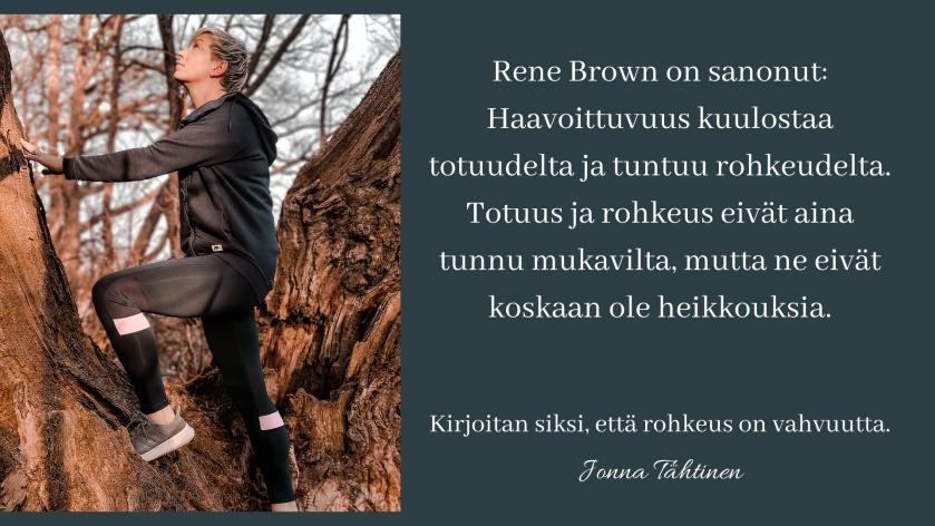 Traumaselviytyjä Jonna Tähtinen